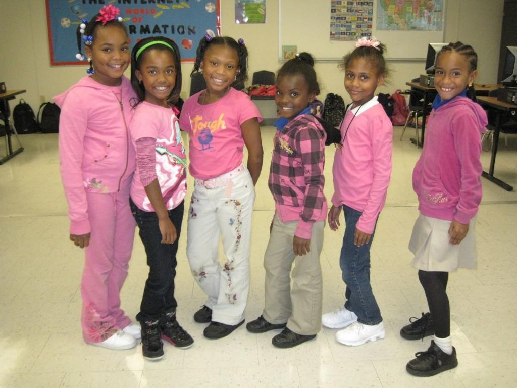 Second grade students