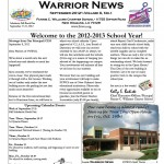 Warrior News - Sept. 2012 | Volume 6, No. 1