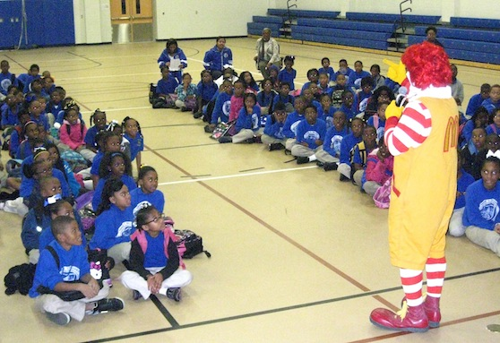 Ronald McDonald Delivers Anti-Bullying Lesson