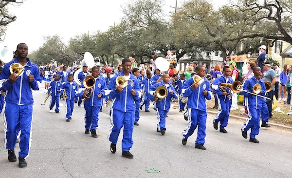 Marching Warriors Perform in Four Parades