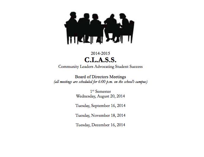 class board meetings