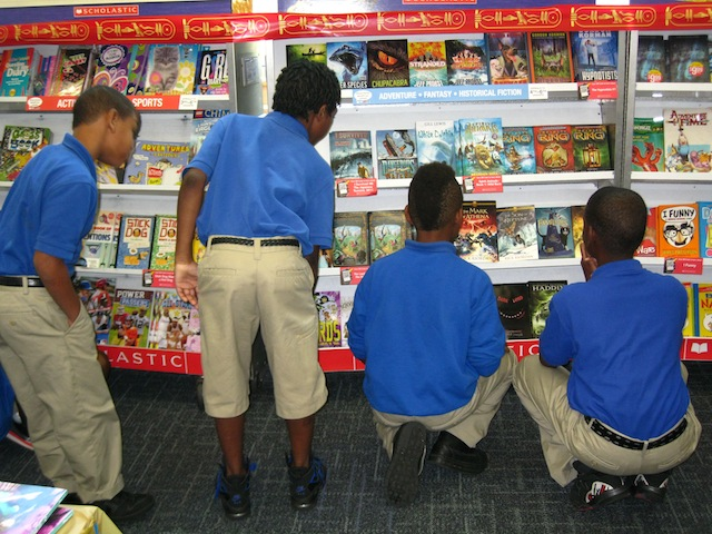 Scholastic Fall Book Fair 2013