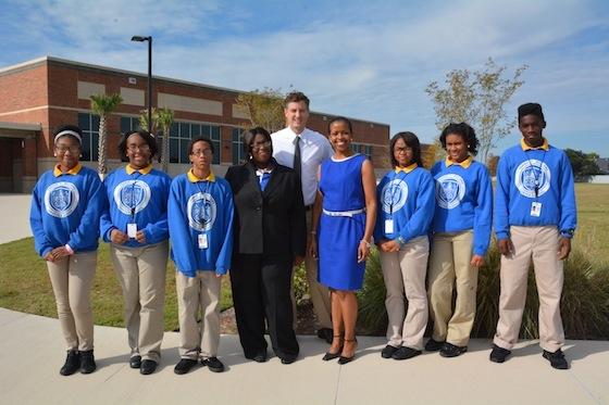 Superintendent John White Visits FCWCS