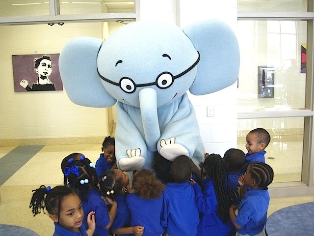 Elephant & Piggie Visit FCWCS