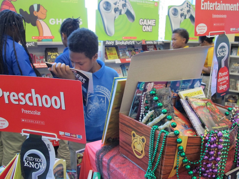 Annual Scholastic Fall Book Fair–2016
