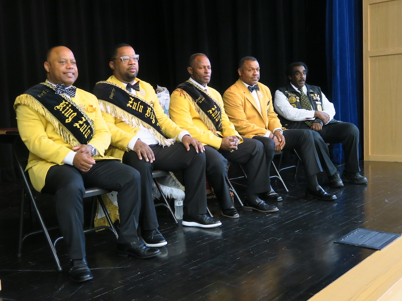 King Zulu Elect Brian Sims Visits