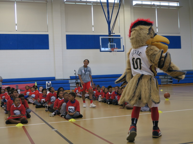 New Orleans Pelicans Conduct Jr. Training Camp